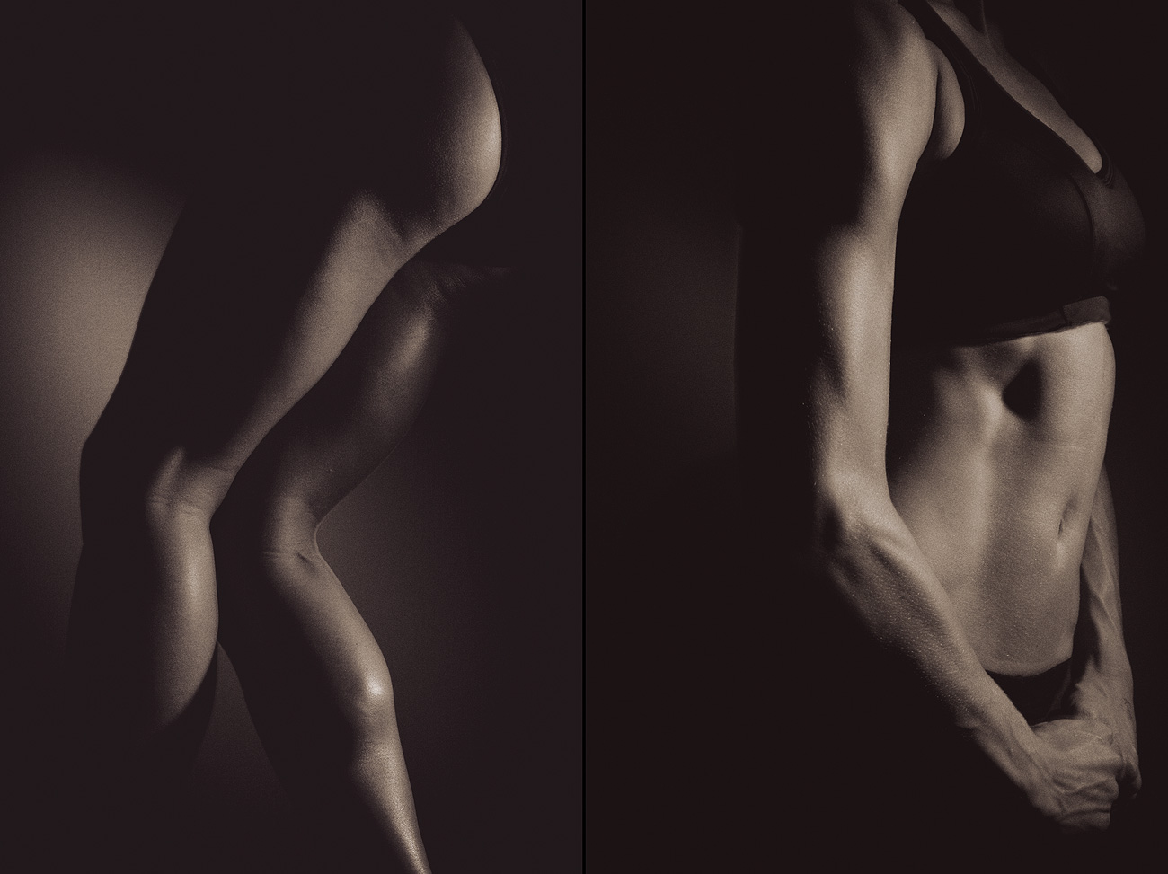 Portland commercial photography - detail muscle photographs of athletes